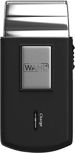 Wahl 03615-1016 - Máquina de afeitar de láminas, negro y plata