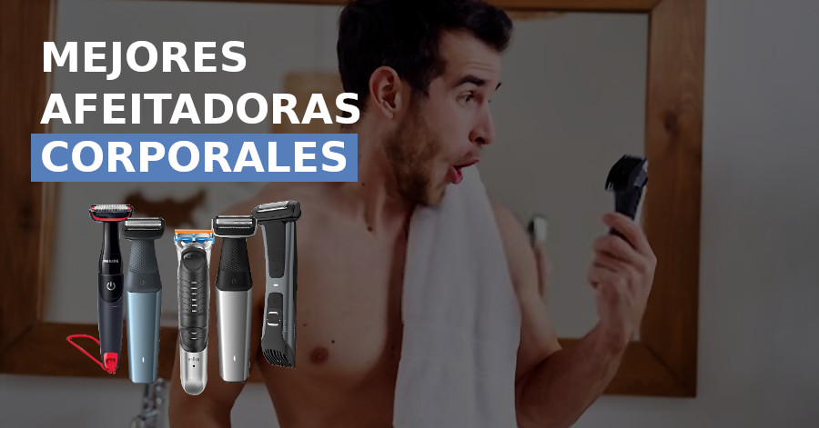 afeitadoras corporales