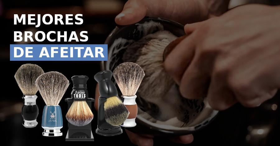 brochas de afeitar