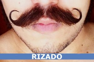 BIGOTE RIZADO