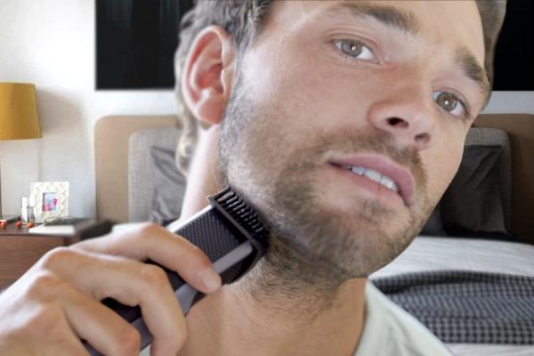 cuidado de la barba de tres dias