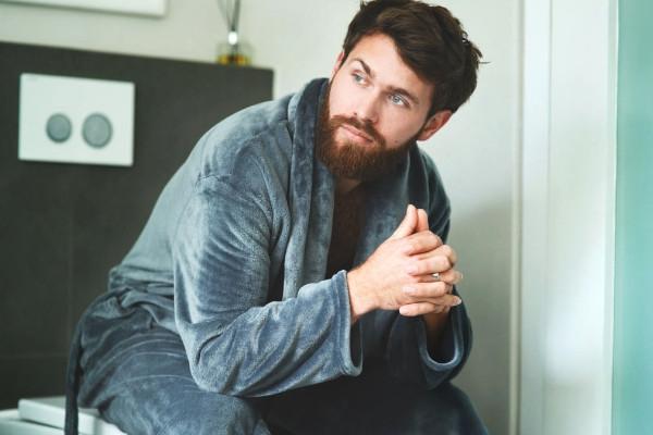 cuidado de la barba larga