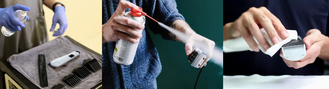 Cómo desinfectar una máquina de afeitar