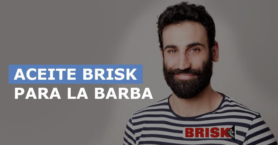Aceites Brisk para la barba