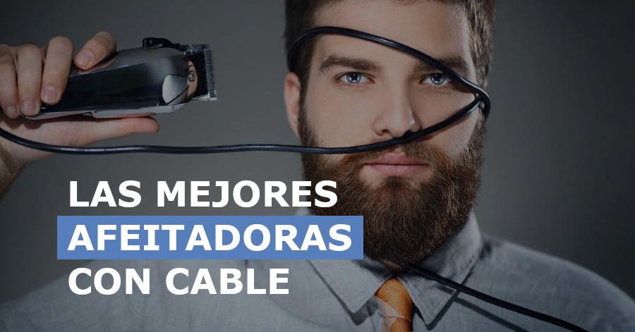 Mejores afeitadoras con cable