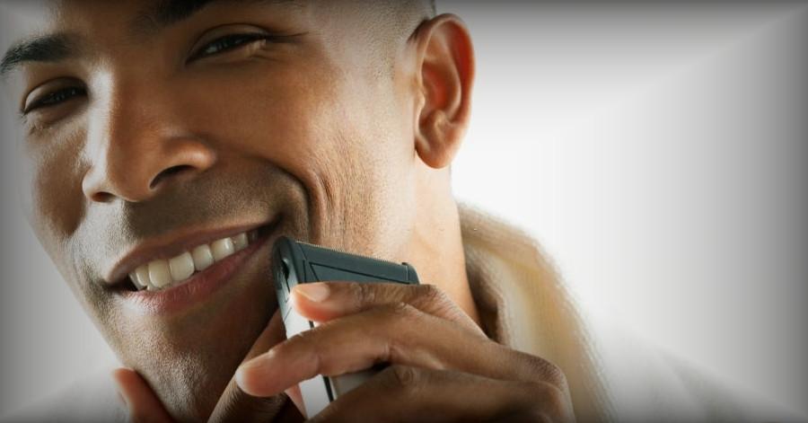 Como afeitarse con maquina eléctrica